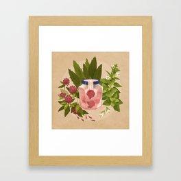 Love & Protection Framed Art Print