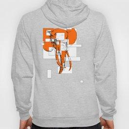 Orange is the New Elephant Hoody