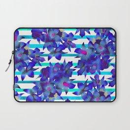 Botanical Stripes Laptop Sleeve