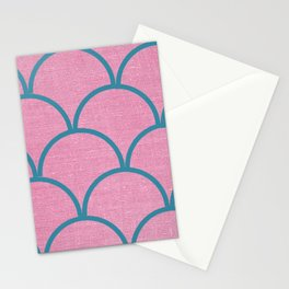 Non Shimmery Mermaid Scale  Stationery Cards