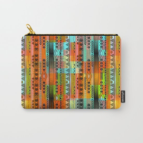 Abstraction. The rainbow pattern. 1 Carry-All Pouch