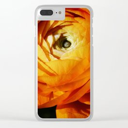 Introspective buttercup beauty Clear iPhone Case