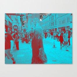 SxSW Downtown (Austin) Canvas Print