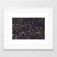 constellation Framed Art Prints featuring Constellation by Esther Ní Dhonnacha