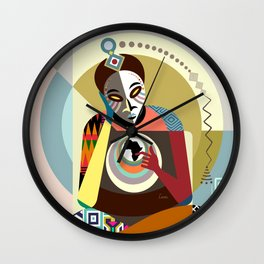 Deep Reflection Wall Clock