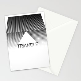 Abstraction 024 - Minimal Geometric Triangle Stationery Cards