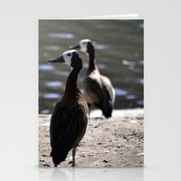 ducks Stationery Cards featuring Ducks by Phil Hinkle Designs