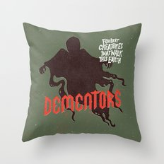 Dementors Throw Pillow