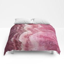 Rosey Rose Quartz Crystal Comforters
