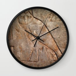 Ancient Owl Wall Clock