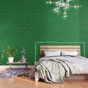 Black and Green Checkerboard Pattern by lainey1978