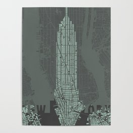 Empire State NY Poster