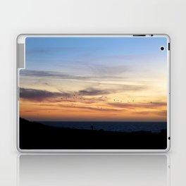 Flock in Half Moon Bay Laptop & iPad Skin