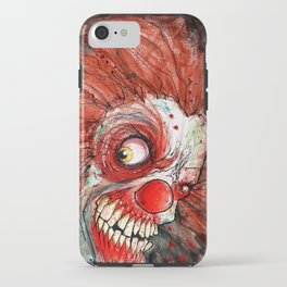 zombie clown iPhone Case