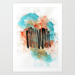 Communication Breakdown Art Print