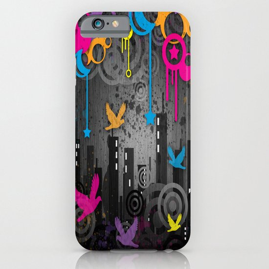 Vector City Grunge. iPhone & iPod Case