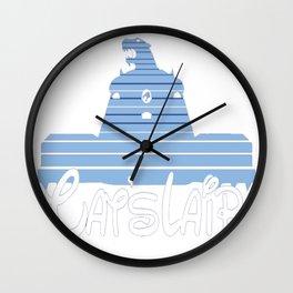 Visit Cat's Lair Wall Clock