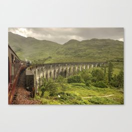 Glenfinian Viaduct  Canvas Print
