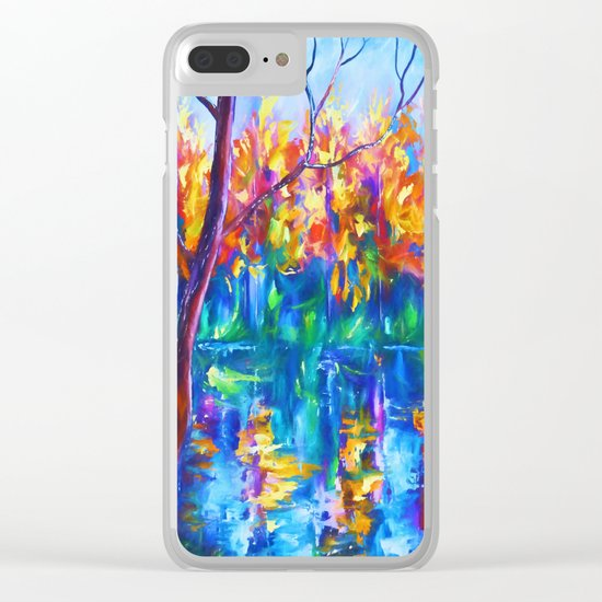 The River Song Clear iPhone Case