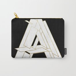 Beautiful Armor Letter A Carry-All Pouch