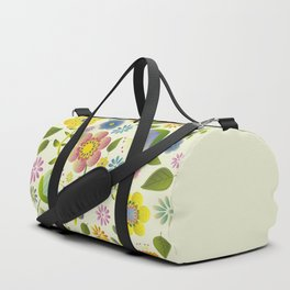 Petty Floral Pattern 2 Duffle Bag