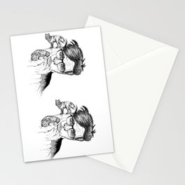 fox planet Stationery Cards