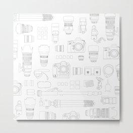 Photographer Kit V2 Metal Print