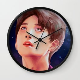 JOSHUA: The Stars in Your Eyes Wall Clock