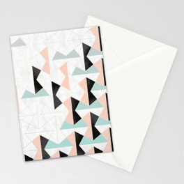 Mixed Material Tiles Stationery Cards