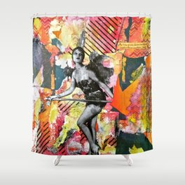 I Get By With a Little Help from Myself Shower Curtain