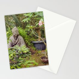 Japanese style Decoration at Guayaquil Botanical Garden Stationery Cards