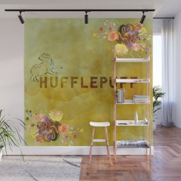Hufflepuff Wall Mural