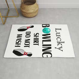 Lucky Bowling Gift For Mom Mothers Day Rug