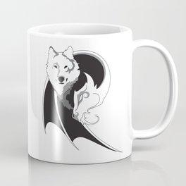 Wolf & Dragon Logo Coffee Mug