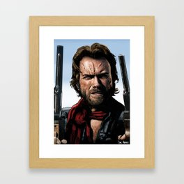 Clint Eastwood - The Outlaw Josey Wales Framed Art Print