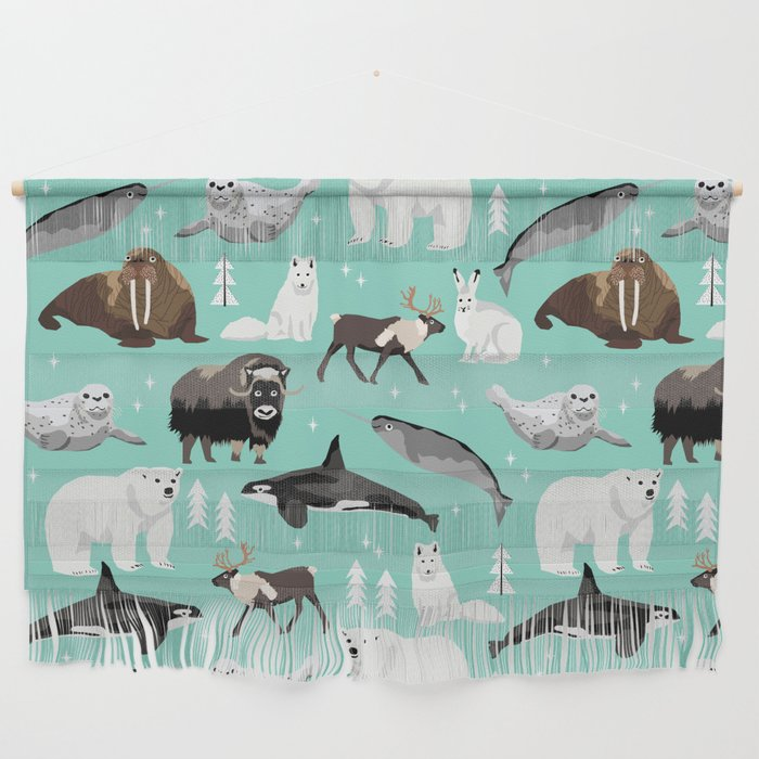 Arctic Animals Kids Pattern Gifts Boys