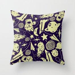 SP@CE Throw Pillow