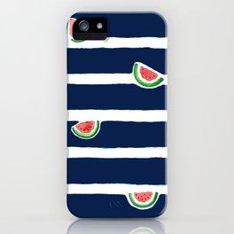 Seaside watermelon iPhone Case