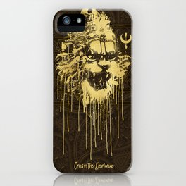 Crush The Demoniac iPhone Case