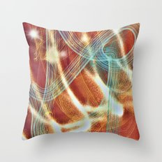 The Backbone of Messy Throw Pillow