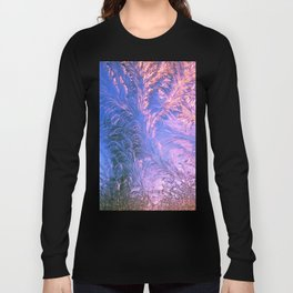 Ice Fractals Long Sleeve T-shirt