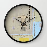 returns Wall Clocks featuring diminishing returns by Jerry Shirts