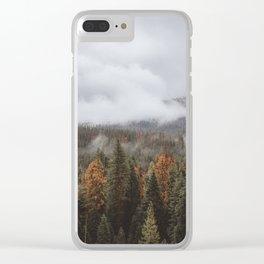 Yosemite II Clear iPhone Case