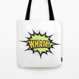 WHAM! Comic Book Tote Bag
