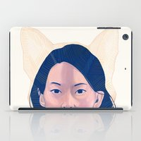 kitsune iPad Cases featuring Kitsune by days & hours