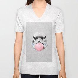 Stormtrooper Bubble Gum Unisex V-Neck