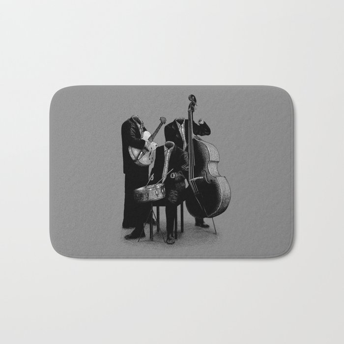 The Invisibles (On Grey) Bath Mat