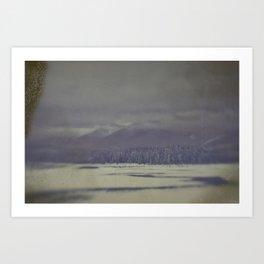 Brisk winter morning Art Print