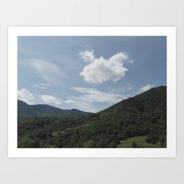 The Carpathians Art Print