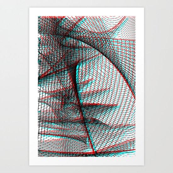 Asymmetriphobia Art Print